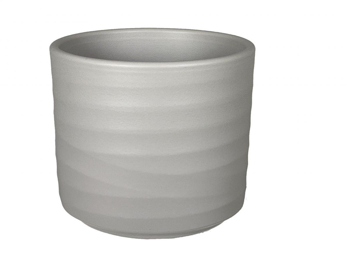 pot berlin d13h125cm grijs