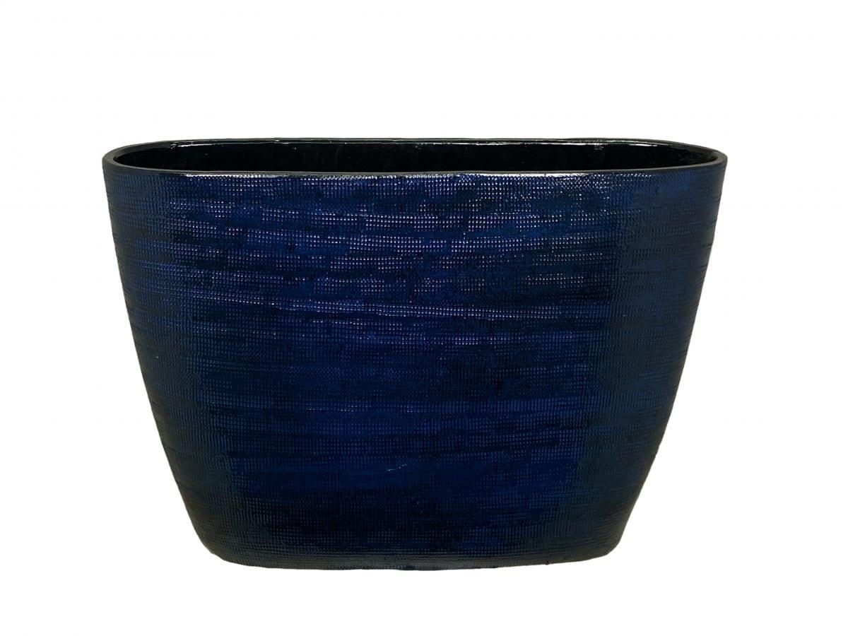 ovaal tokio d48h37cm blauw