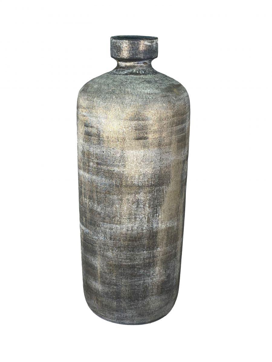 fles miami d 19 h 50 cm zwart cement