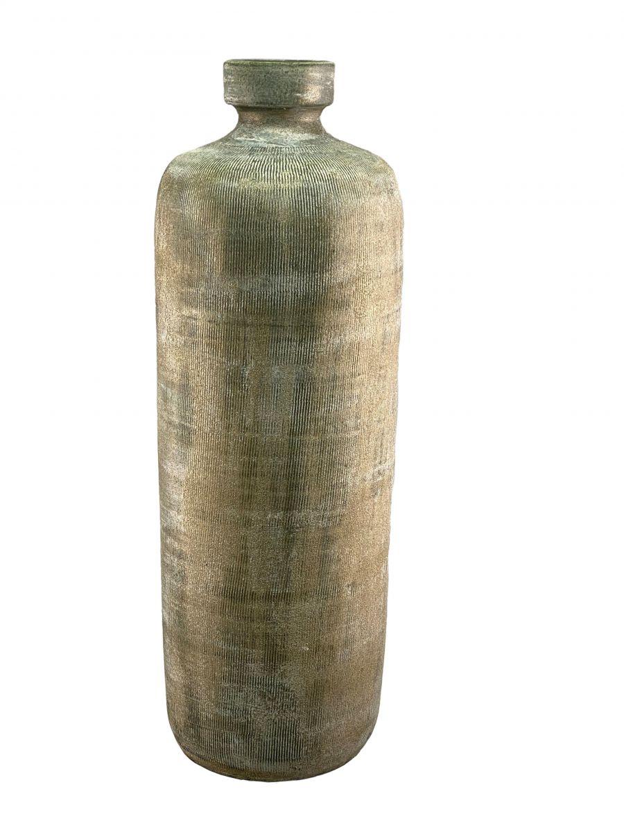 fles miami d 20 h 60 cm groen cement