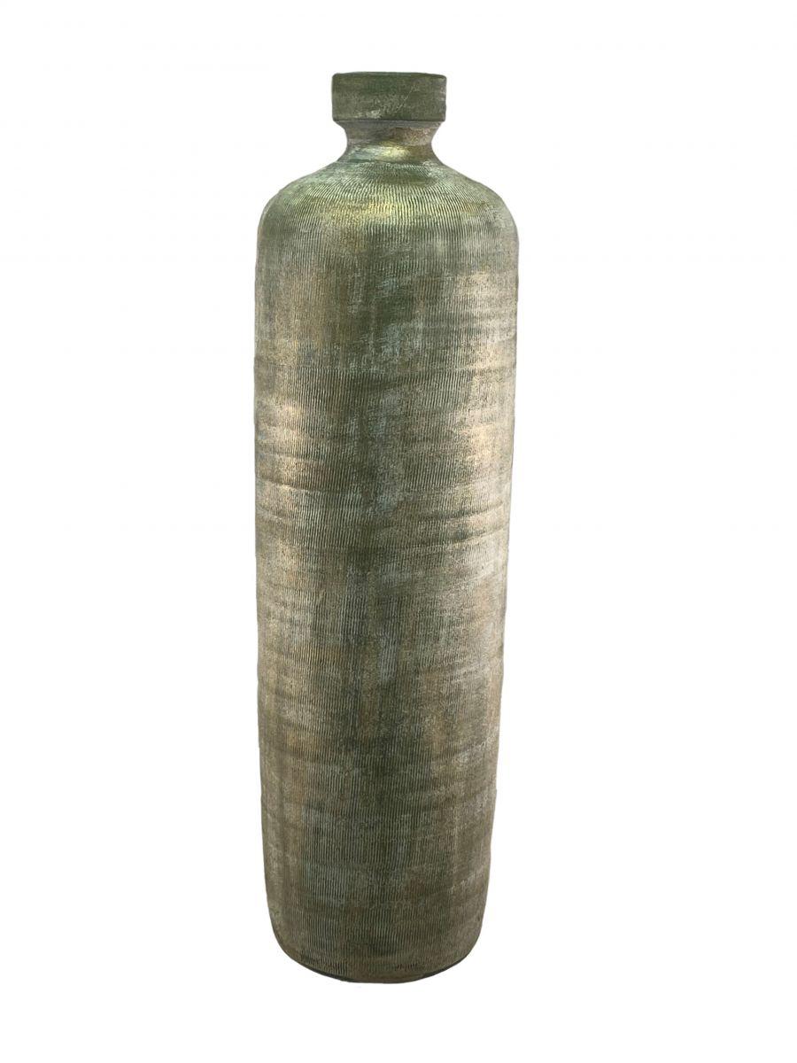 fles miami d 20 h 70 cm groen cement