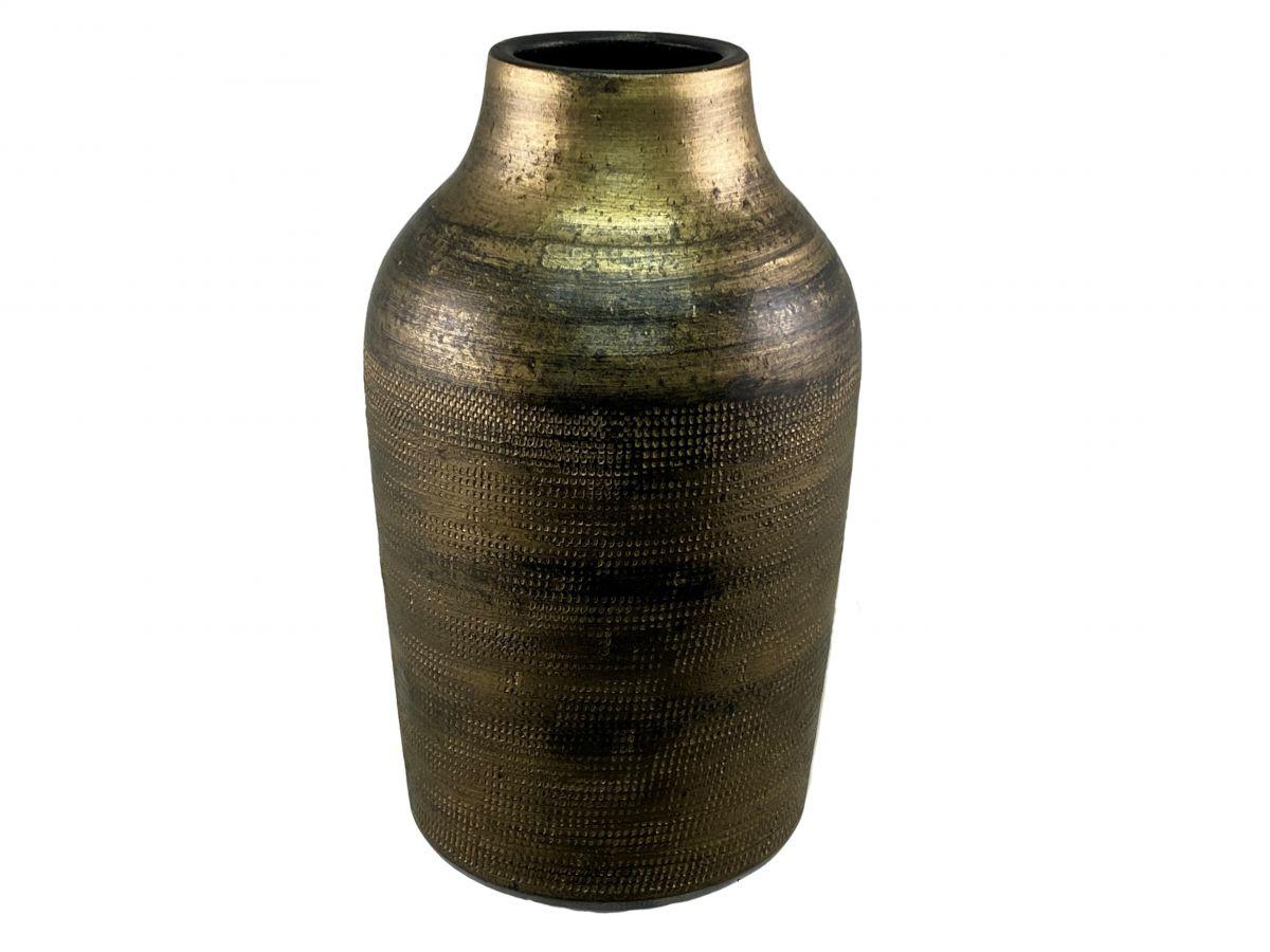 fles tokio d18h30cm goud