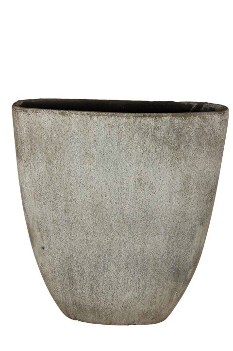 ovale boot corona l51d16h57 grijs cement
