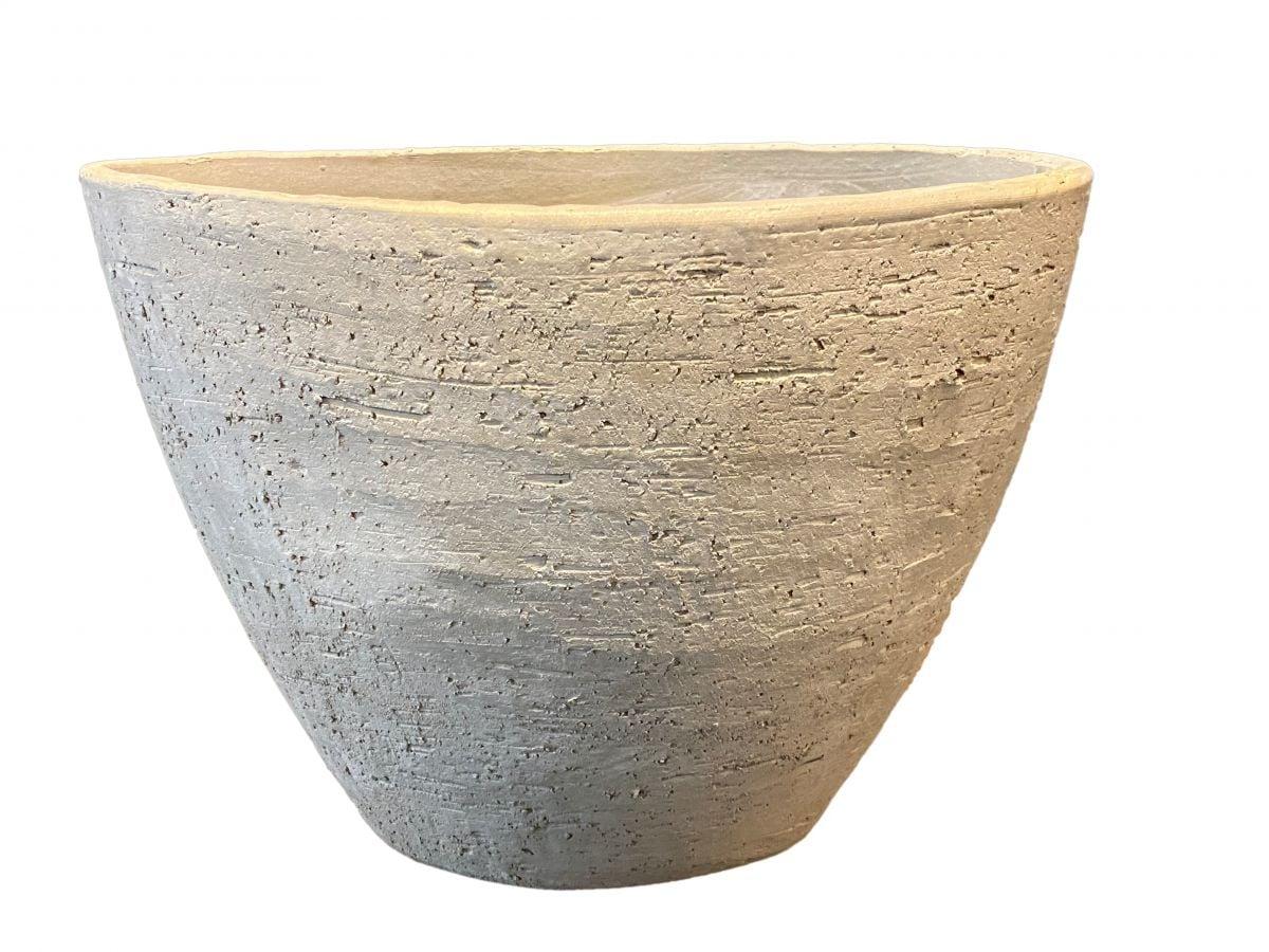 ovale pot rome b40d20h33cm goud