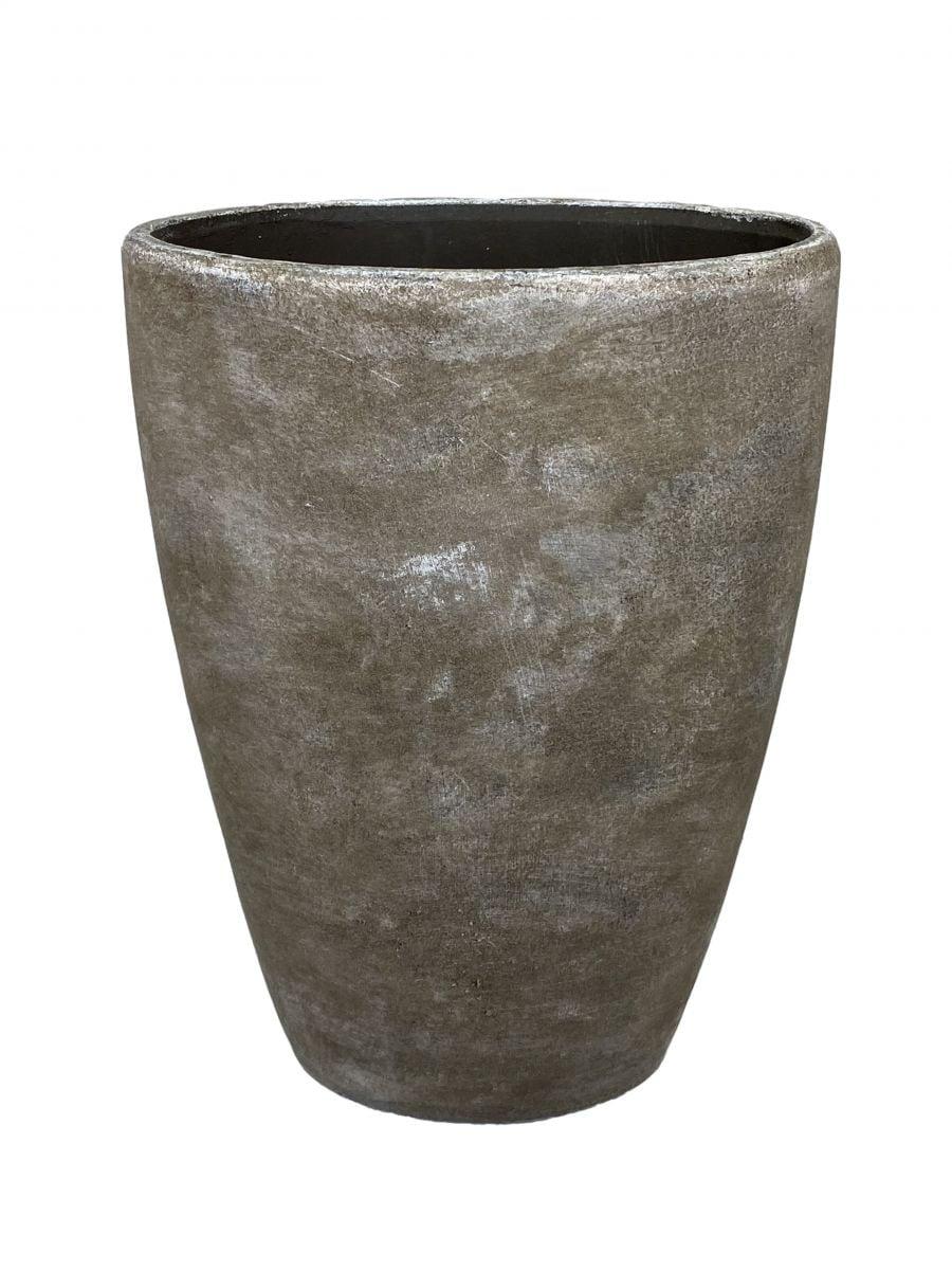 ovale vaas denver h 39 d 30 cm industrieel