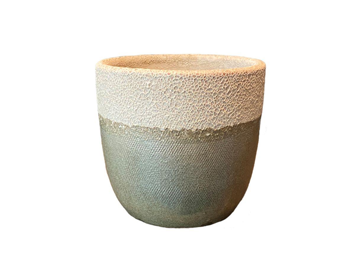 pot atlanta d15h14cm groen