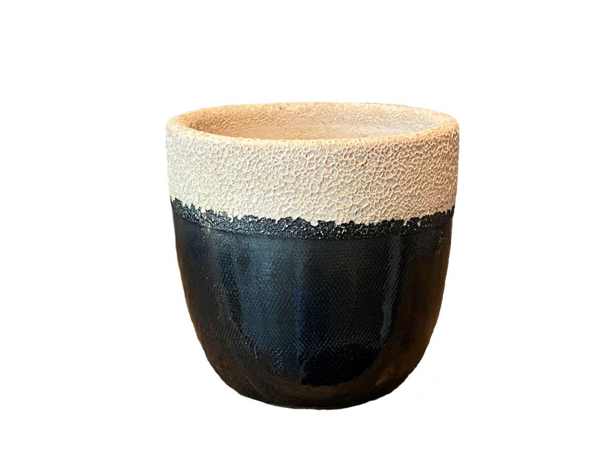 pot atlanta d15h14cm zwart