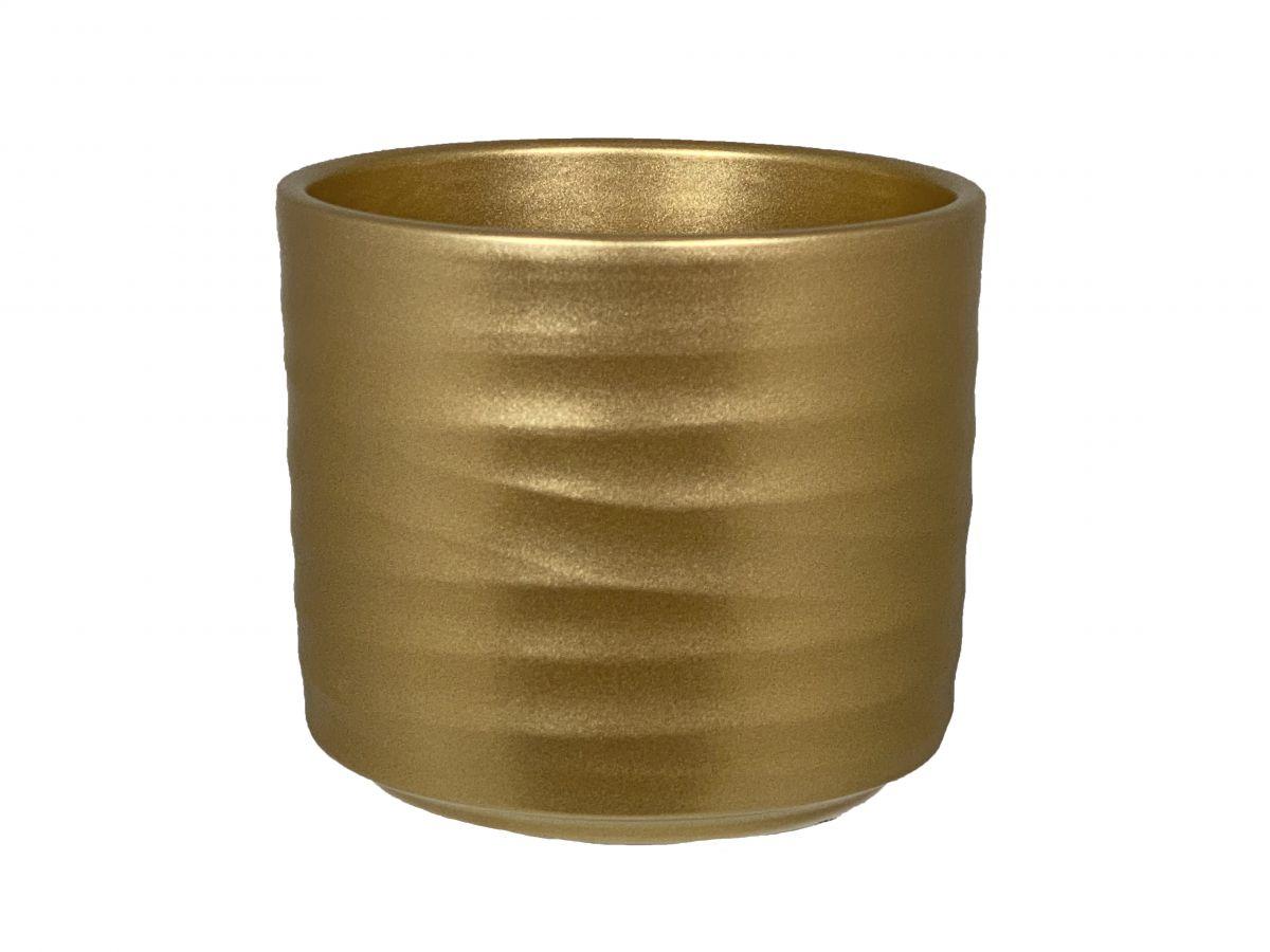 pot berlin d13h125cm goud