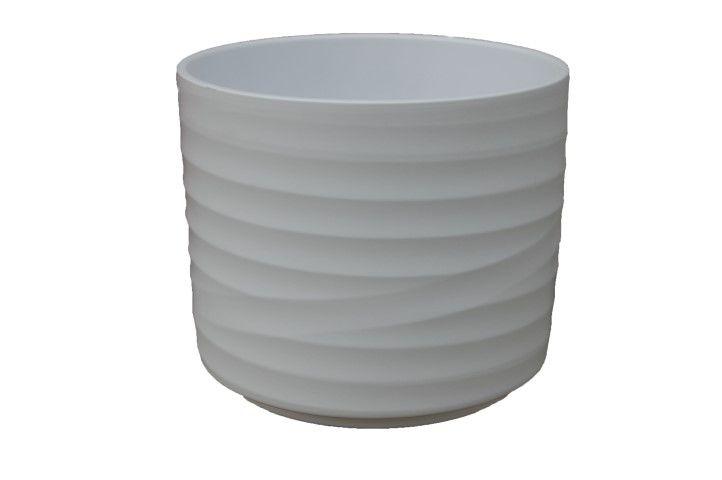 pot berlin d145h12cm wit