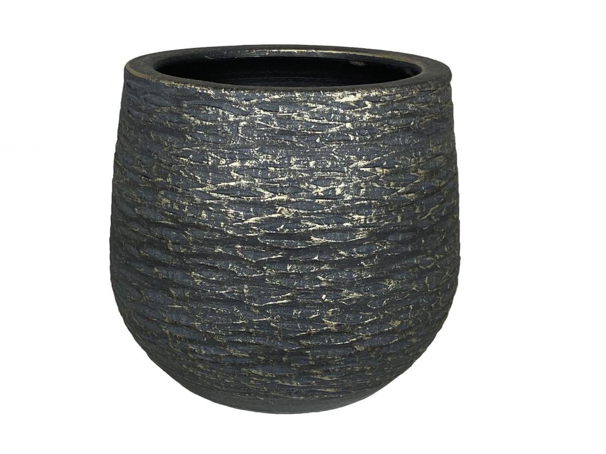 pot lissabon d28h27cm zwart