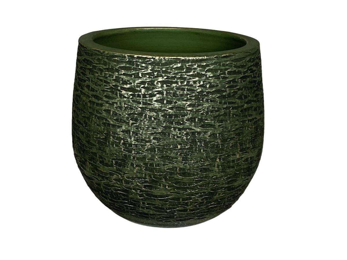 pot lissabon d32h31cm groen