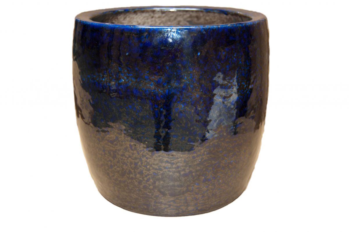 pot michigan d23h21cm blauw