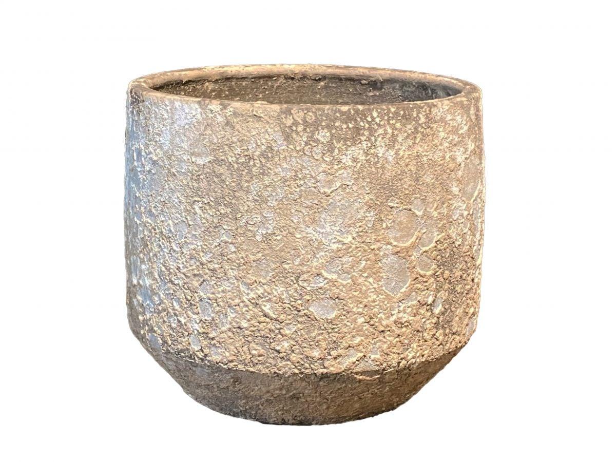 pot napoli d27h25cm cement