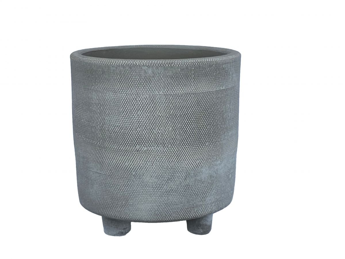 pot nevada d105h12cm cement