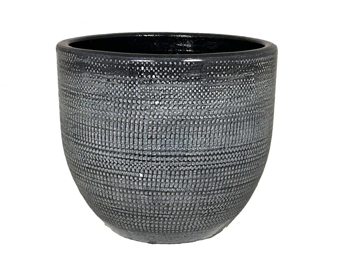 pot stockholm d20h18cm lood