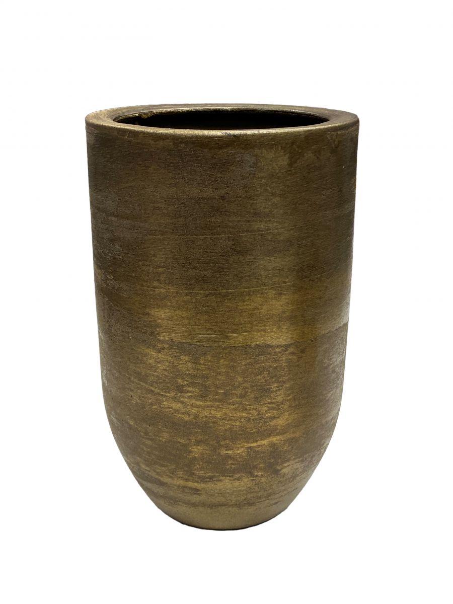 vaas alaska d 28 h 60 cm goud