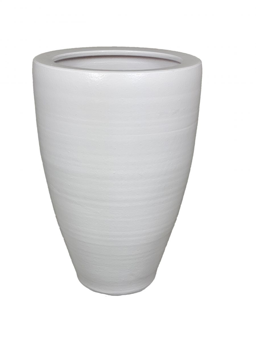 vaas athene d 33 h 60 cm off white