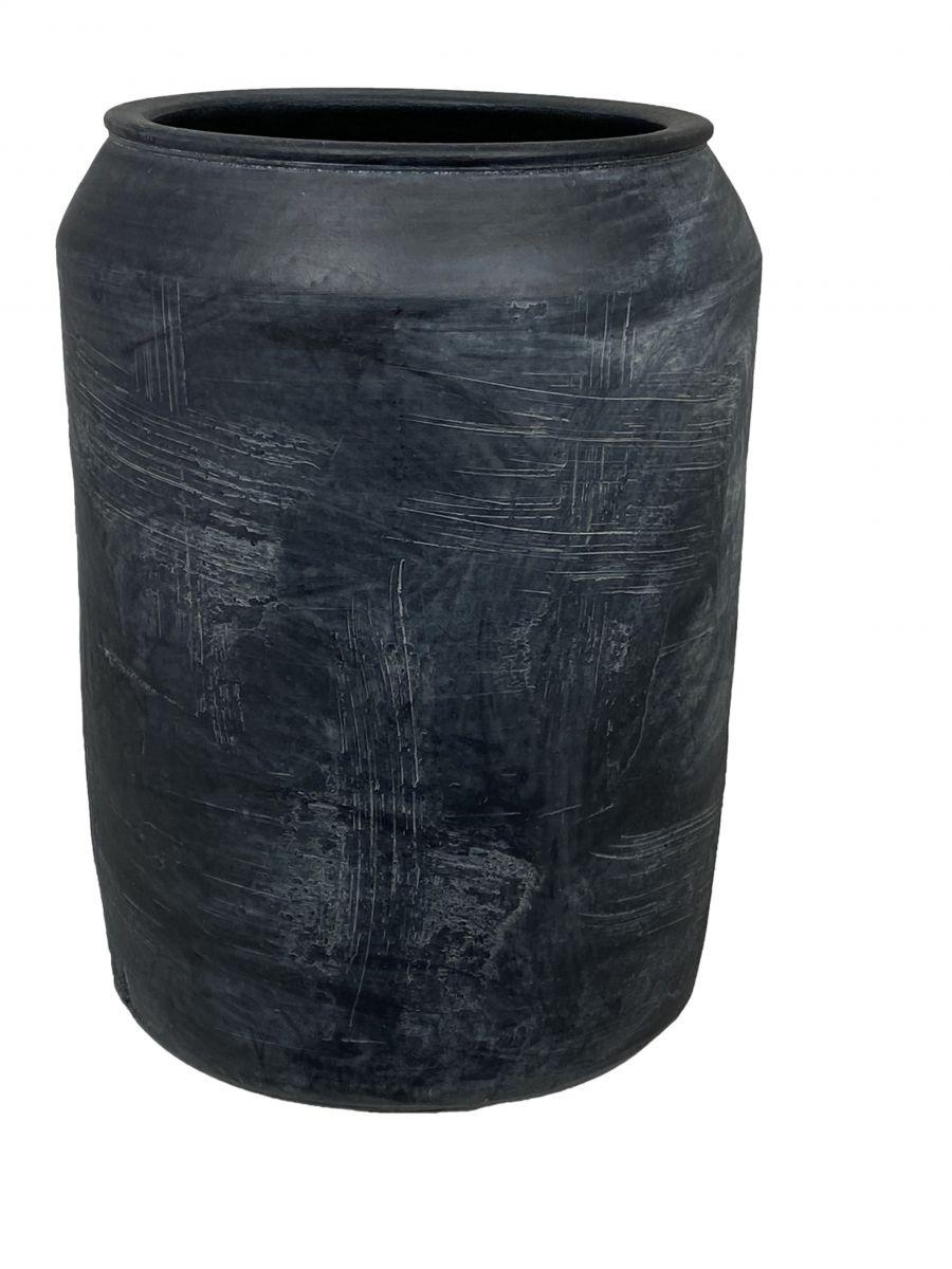 vaas bilbao d22h30cm zwart